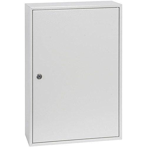 Phoenix Keysure KC0502K 50 Hook Deep Plus Key Cabinet with Key Lock Light Grey