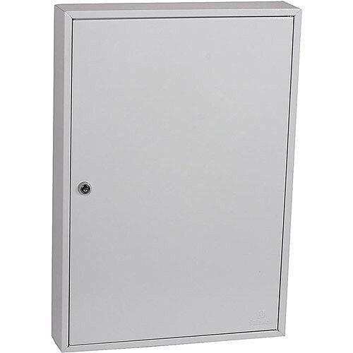 Phoenix Commercial Key Cabinet KC0603K 100 Hook with Key Lock. Light Grey
