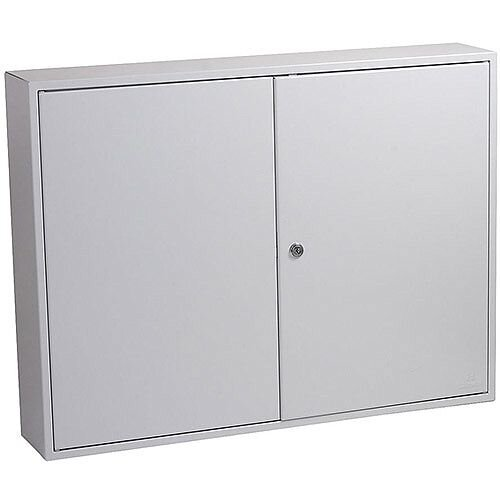 Phoenix Commercial Key Cabinet KC0606K 400 Hook with Key Lock. Light Grey