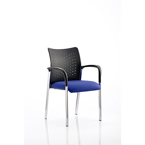 Academy Boardroom &Visitor Chair With Arms Serene Blue