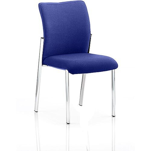 Academy Boardroom &Visitor Chair Fabric Back &Seat Serene Blue