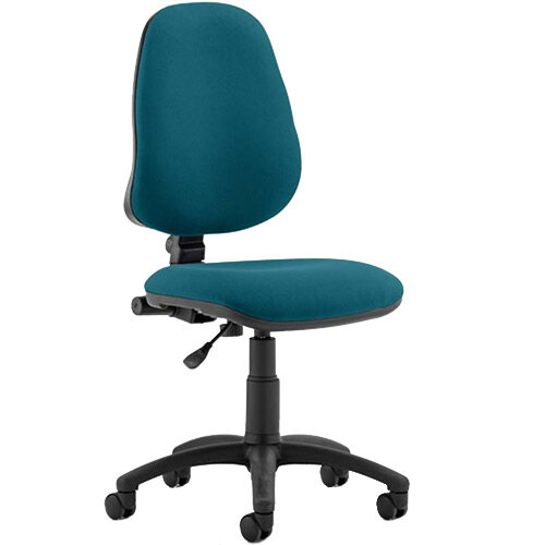 Eclipse I Lever Task Operator Office Chair Kingfisher Green