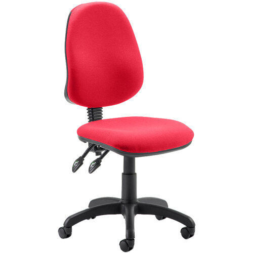 Eclipse II Lever Task Operator Office Chair Cherry Red