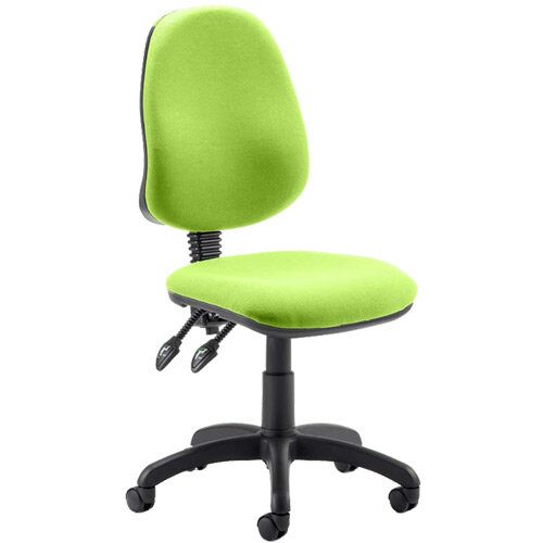 Eclipse II Lever Task Operator Office Chair Swizzle Green
