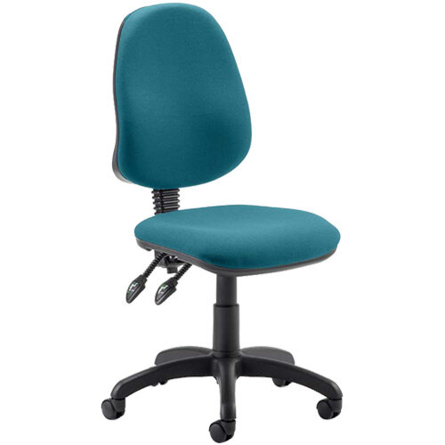 Eclipse II Lever Task Operator Office Chair Kingfisher Green