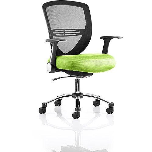 Iris Task Operator Office Chair Swizzle Green