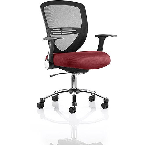 Iris Task Operator Office Chair Chilli Red