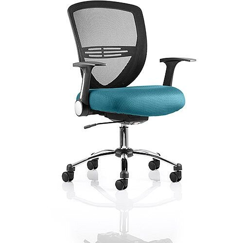 Iris Task Operator Office Chair Kingfisher Green