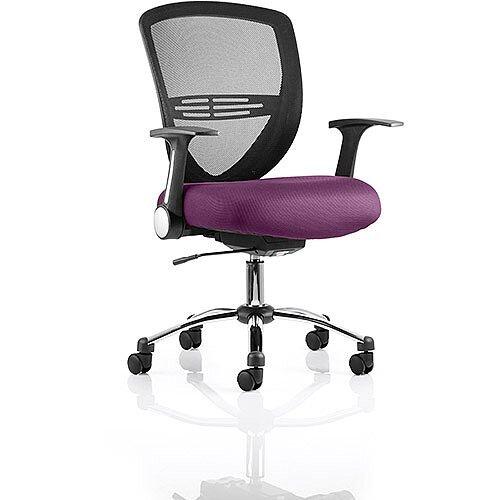 Iris Task Operator Office Chair Purple