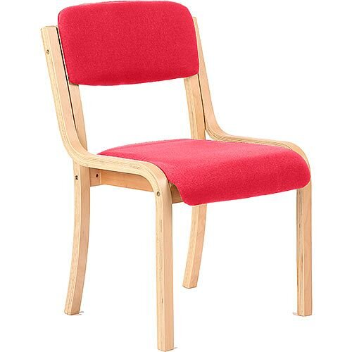 Madrid Boardroom &Visitor Chair Cherry Red