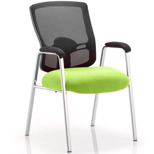 Portland Boardroom &Visitor Chair Swizzle Green