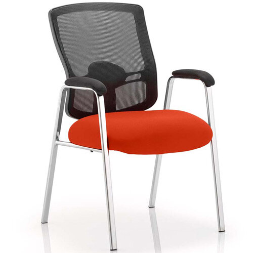 Portland Boardroom &Visitor Chair Pimento Rustic Orange