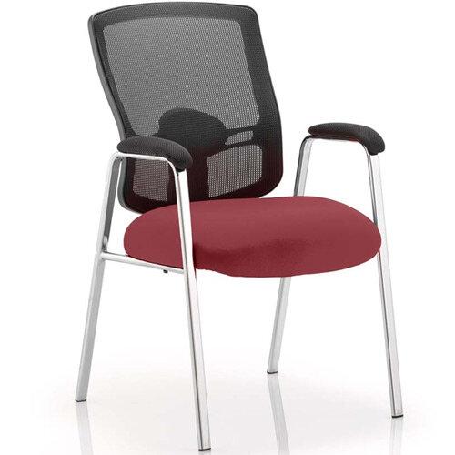 Portland Boardroom &Visitor Chair Chilli Red