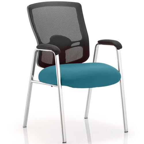 Portland Boardroom &Visitor Chair Kingfisher Green