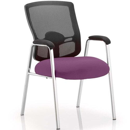 Portland Boardroom &Visitor Chair Purple