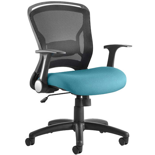 Zeus Task Operator Office Chair Kingfisher Green