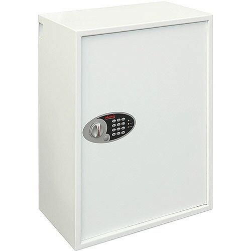 Phoenix Cygnus Key Deposit Safe KS0034E 300 Hook with Electronic Lock White