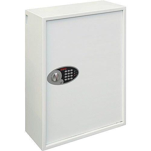Phoenix Cygnus Key Deposit Safe KS0035E 500 Hook with Electronic Lock White