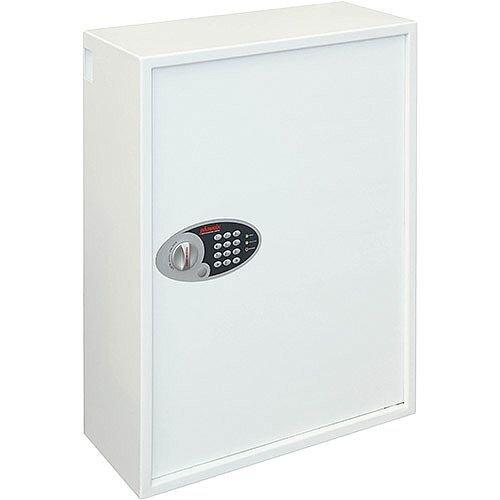 Phoenix Cygnus Key Deposit Safe KS0036E 700 Hook with Electronic Lock White