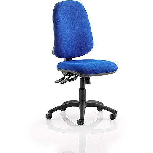 Eclipse XL III Lever Task Operator Office Chair Blue