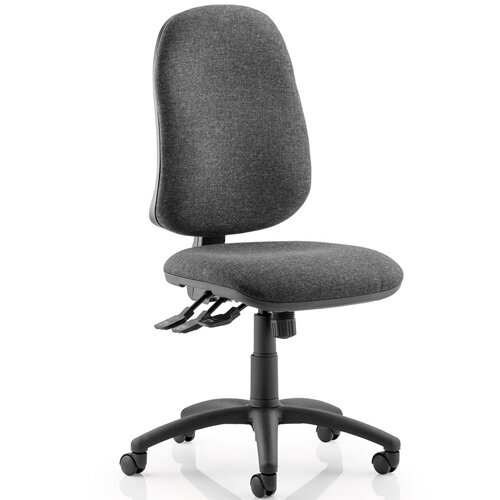 Eclipse XL III Lever Task Operator Office Chair Charcoal