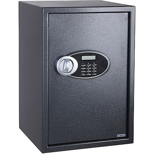 Phoenix Rhea SS0104E Size 4 Security Safe with Electronic Lock Metalic Graphite 51L