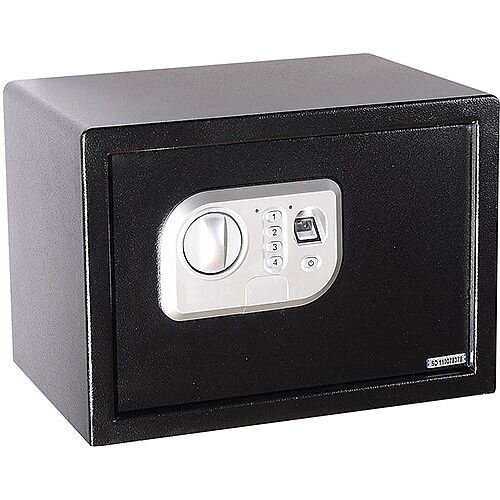 Phoenix Neso SS0201F Size 1 Security Safe with Fingerprint Lock Black 16L
