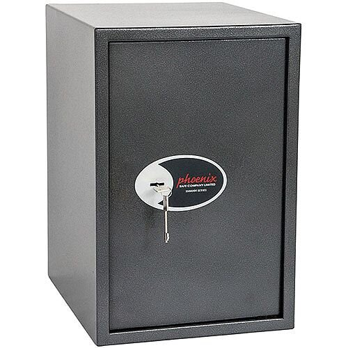 Phoenix Vela Home &Office SS0805K Size 5 Security Safe with Key Lock Metalic Graphite 88L