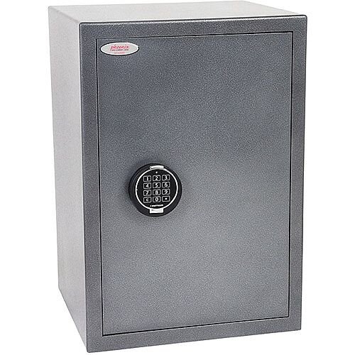 Phoenix Lynx SS1173E Size 3 Security Safe with Electronic Lock Metalic Graphite 52L
