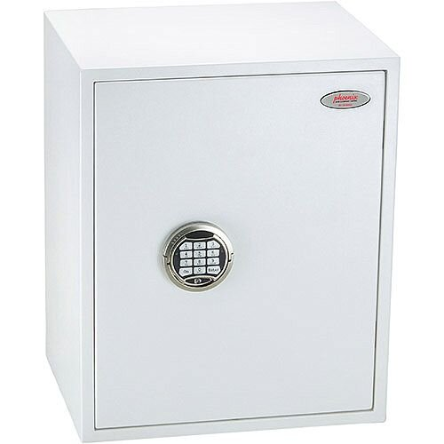 Phoenix Fortress SS1183E Size 3 S2 Security Safe with Electronic Lock White 42L
