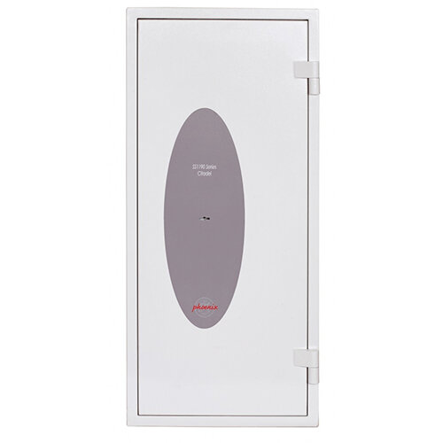 Phoenix Citadel SS1193K Size 3 Fire &S2 Security Safe with Key Lock White 78L 30mins Fire Protection