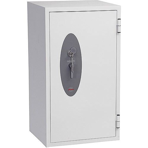 Phoenix Fire Fox SS1622K Size 2 Fire &S1 Security Safe with Key Lock White 162L 120min Fire Protection