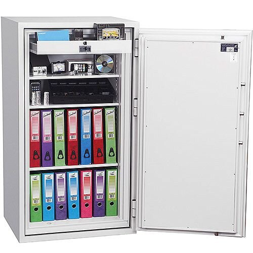 Phoenix Fire Fox SS1623E Size 3 Fire &S1 Security Safe with Electronic Lock White 315L 120min Fire Protection