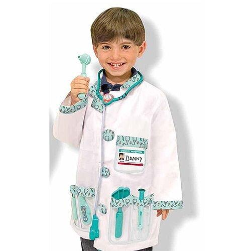Doctor Kids Costume 3-6 Years