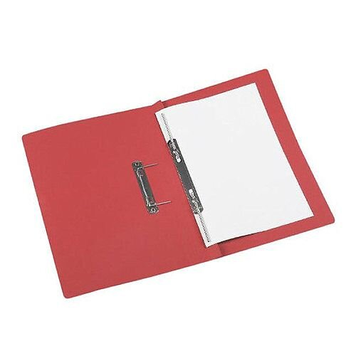 Acco Eastlight Jiffex File Foolscap Red 43218EAST Pack 50