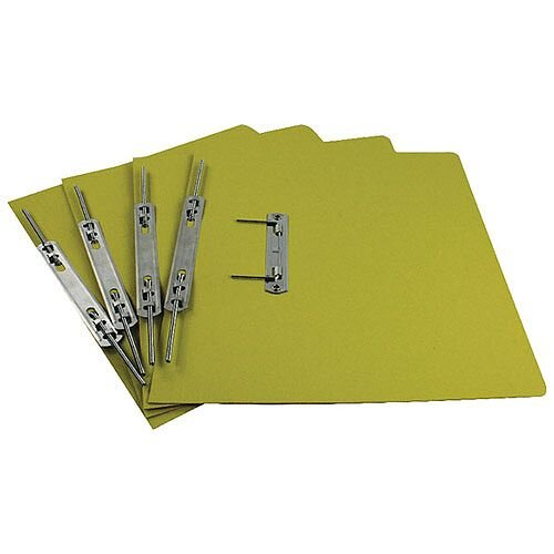 Rexel Jiffex Yellow Foolscap Transfer File (Pack of 50)