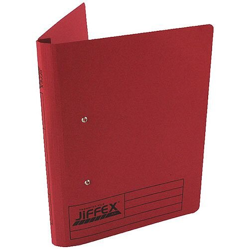 Acco Eastlight Jiffex File A4 Red 43248EAST Pack 50