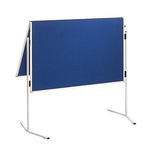 Franken ECO Training Board Felt Blue Foldable 1200x1500mm ECO-UMTF-G03