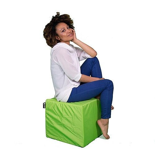 Elephant Cube Chair 450x450x400mm Zingy Lime