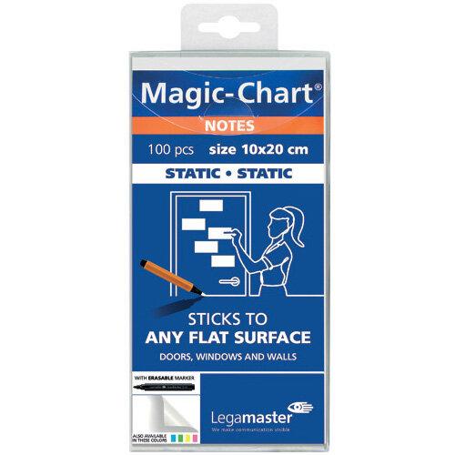 Legamaster Magic Notes 20X10cm White Pack of 100 7-159419
