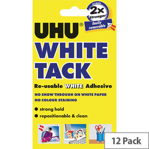 UHU White Tack Handy Pack 42196