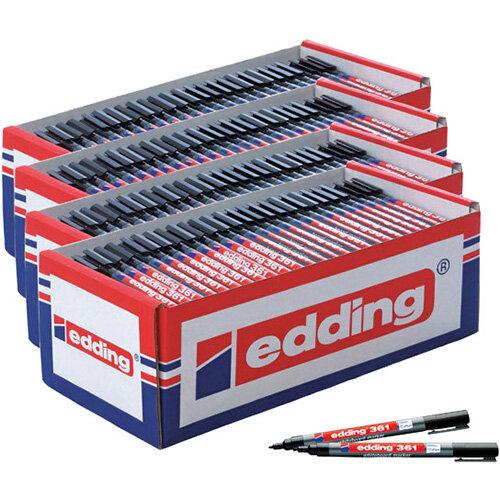 Edding 361 Boardmarker Class Black Pack of 200 5 for 4 ED810667