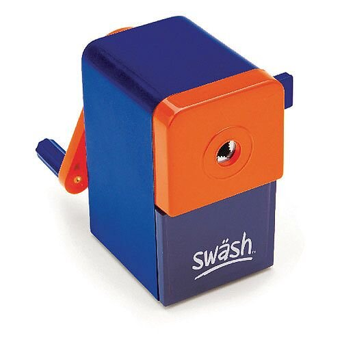 Swash 8Mm Desktop Pencil Sharpener pack of 2