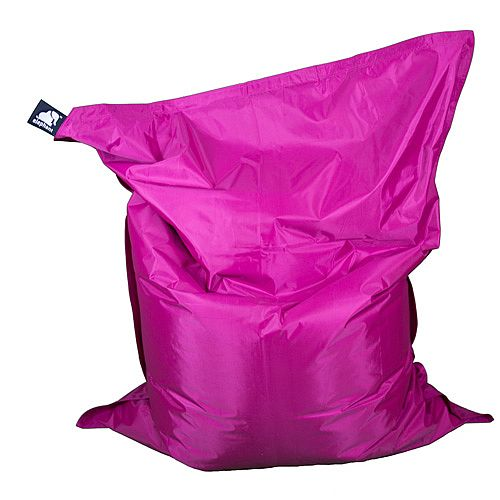 Elephant Jumbo Indoor &Outdoor Use Bean Bag 1750x1350mm Shocking Pink