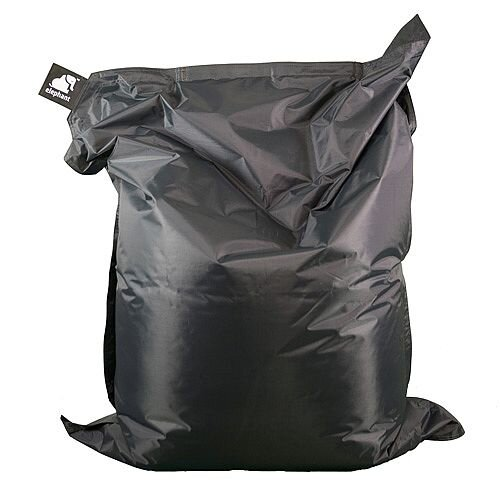 Elephant  Junior Indoor &Outdoor Use Kids Size Bean Bag 1400x1100mm Smoke Grey