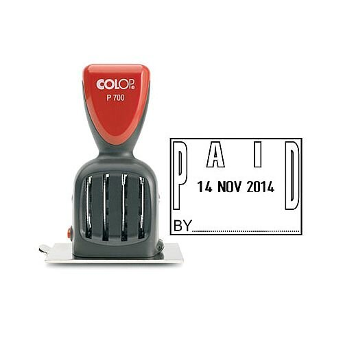 Colop P700 Date Paid Stamp P700PAID