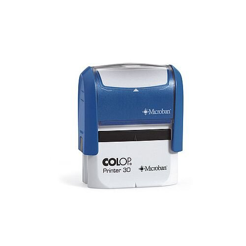 Colop Microban Self-Inking Stamp P30 45x16mm