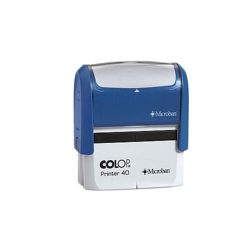 Colop Microban Self-Inking Stamp P40 57x20mm