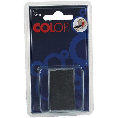 Colop E/200 Replacement Pad Black E200Black Pk 2