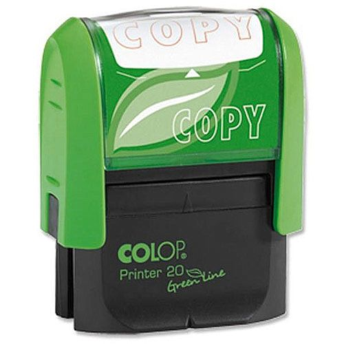 Colop Green Line Word Stamp COPY GLP20COPY